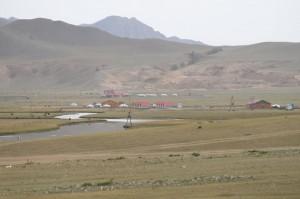 camp pour touristes