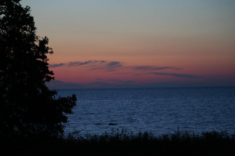 coucher de soleil Estonie
