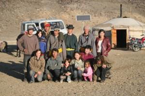 famille mongole