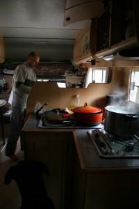 intérieur du camping-car