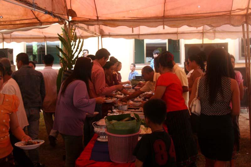 buffet mariage laos