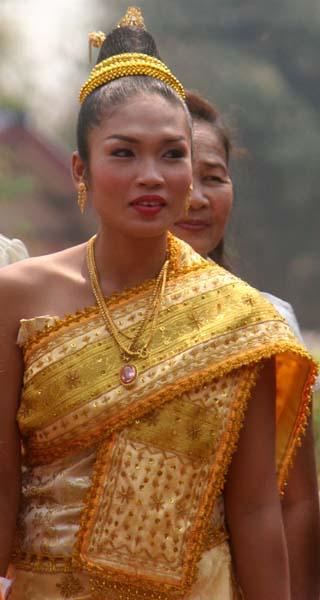 mariee au laos