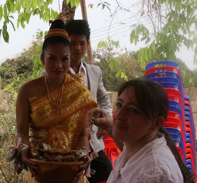ceremonie whisky mariage laos