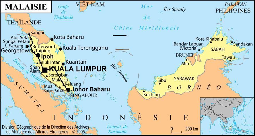 malaisie itineraire