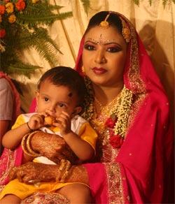 mariée bangladesh