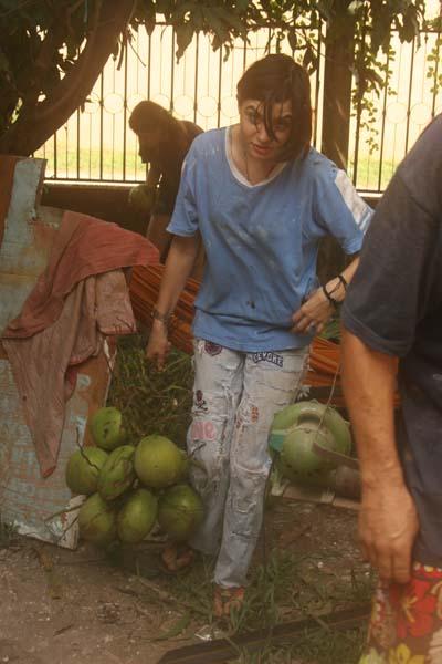 noix de coco gabrielle bufardtourdumonde laos