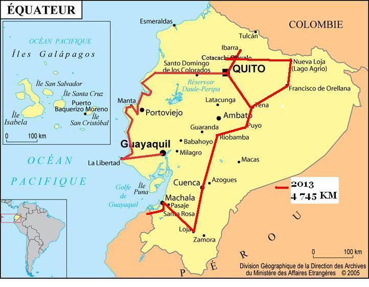 equateur map